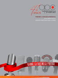 Opc Banquet Book 2010 Periodismo Radio