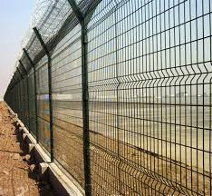 3d Panel Fencing 150mm X 50mm X 5 Mm Dia X 1 2 Mh X 2 4 Mw Hdgi Welded Mesh Panel Nylofor With Anti Theft Clips View Mesh Fencing Industrial Aperture 50x200mm Economy Metal Bracket