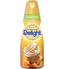 sugar free caramel macchiato coffee creamer