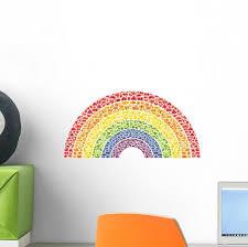 Fruit And Vegetable Rainbow Wall Decal Wallmonkeys Com