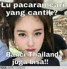 cewek mah kalah cantik ama ini thailand