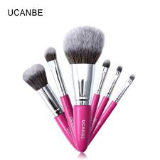 ucanbe 7pcs makeup brushes tool powder