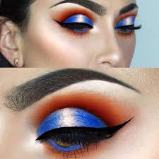 amber eyes with the best eye makeup