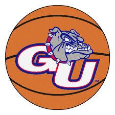 Fanmats Ncaa Gonzaga University Basketball 27 In X 27 In Non Slip Indoor Only Mat Wayfair