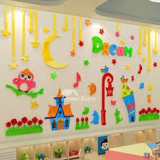 wall art stickers decor 3d acrylic
