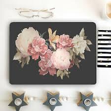 Floral Laptop Skin Peony Flower Vinyl Decal Dell Hp Lenovo Asus Wrap Acer M24 Ebay