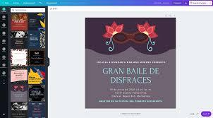 Disena Invitaciones Para Fiestas De Disfraces Gratis Canva