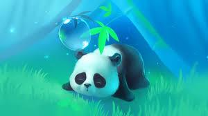 cute panda desktop wallpapers top