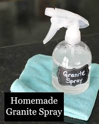 granite cleaner that you make yourself