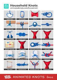household knots learn how to tie