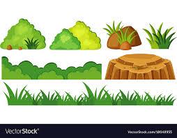 rocks in garden royalty free vector image