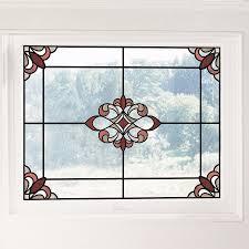 Fleur De Lis Living Stained Glass Window Decal Reviews Wayfair