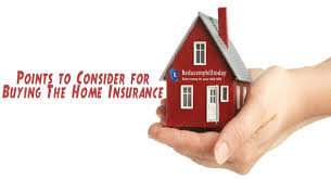 points to consider for buying the home insurance reduce my bill