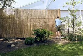Installing Rolled Fence