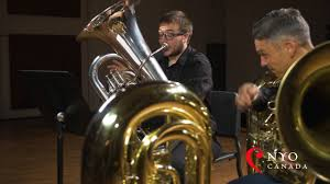Play With The Masters - Sasha Johnson, Tuba 3 of 3 - YouTube