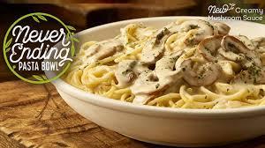brings back never ending pasta bowl