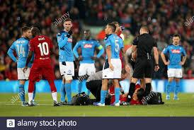 Virgil van Dijk lies injured ...