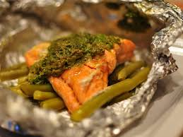 Salmon Recipe With Green Beans ...