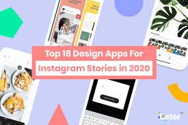 design apps for insram stories