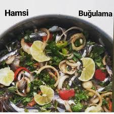 Added by @benimtarifdefterimden Instagram post Bugün günlerden balık günü  olsun mu ? Olsun 🎊 o halde güzel bir fırın yemeği olan hamsi buğulama  tarifi için malzemeler😍 Malzemeler Yarım kilo hamsi (kılçıkları çıkarılmış