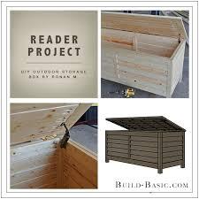 reader project diy outdoor storage