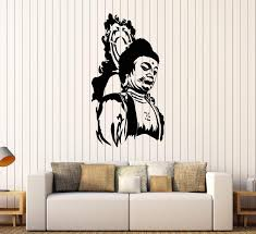 Vinyl Wall Decal Buddha Religion Buddhism Stickers Mural Unique Gift Wallstickers4you