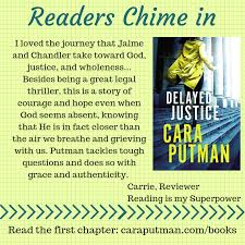 The Story Behind the Story: Delayed Justice & Giveaway | caraputman.com