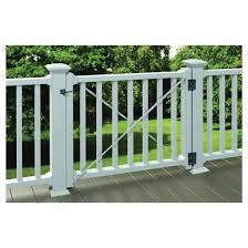 Fence Gate Kit Spartan 36 X 42 X 48 White 73025311 Rona