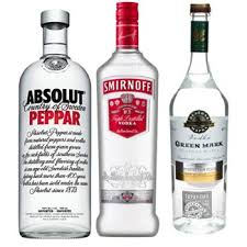 absolut and smirnoff vodka gift