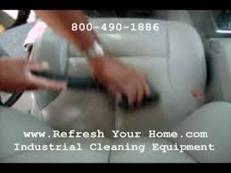 auto detail leather seats steam cleaner