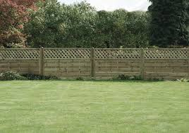 Ruby Horizontal Lattice Top Wooden Fence Panel 6ft 1 8m Wide Various Heights 6ft X 4ft Amazon Co Uk Garden Outdoors