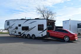 rv toy haulers custom enclosed and