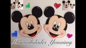 Mickey Mouse Hecho Con Foamy O Goma Eva Youtube