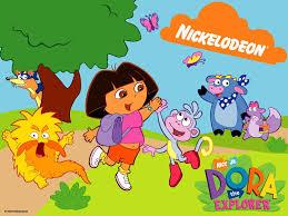 dora the explorer cartoon cast