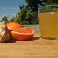 ginger gfruit kombucha