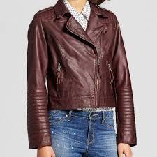 nwot leather jacket medium