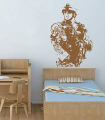 Ik716 Wall Decal Sticker Us Army Soldier Military Shooter Bedroom Stickersforlife