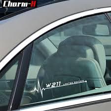 Car Styling Reflective Window Decal Sticker For Mercedes Benz W211 W210 W205 W203 W204 W220 W124 W212 W213 W126 W169 Accessories Car Stickers Aliexpress