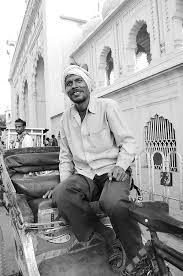 Lucknow Rickshaw-puller Photograph by Abhilash G Nath