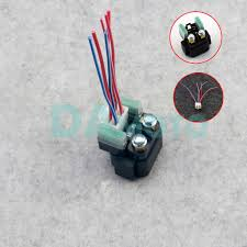 motor starter relay solenoid cable plug
