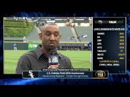 Lance Johnson joins SportsTalk Live to talk baseball - YouTube
