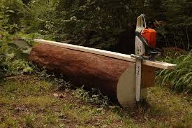 diy chainsaw sawmill harvest and