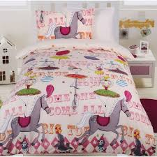 circus girls quilt cover set quilt