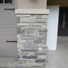 stone veneer column wraps canada