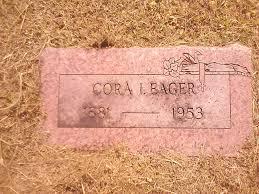 Cora Ida Carter Eager (1881-1953) - Find A Grave Memorial