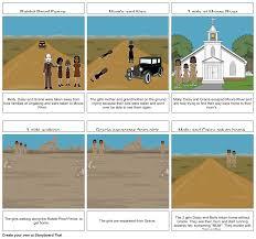 Story Board Rabbit Proof Fence Storyboard By Shakira Ansons28