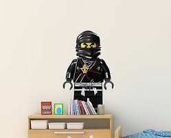 Ninjago Wall Decal Sticker Bedroom Vinyl Kids Cole