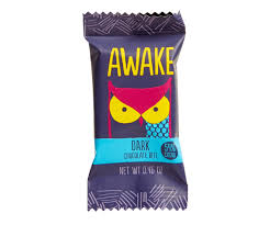 awake caffeinated chocolate dark