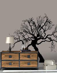Scary Spooky Tree Bare Branches Wall Decal Ac221 Stickerbrand