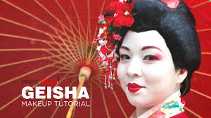 geisha makeup tutorial you